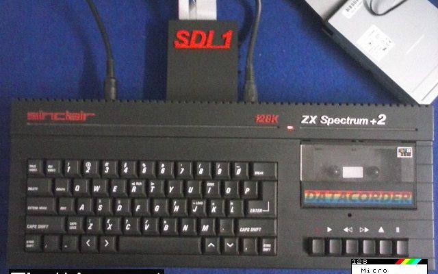 ZX Spectrum +2A con SDI-1