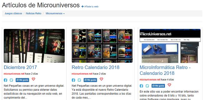 Portal Con MicroUniversos.Net
