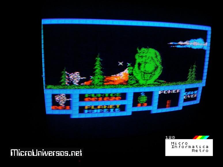 Videojuego GAME OVER versión MSX.