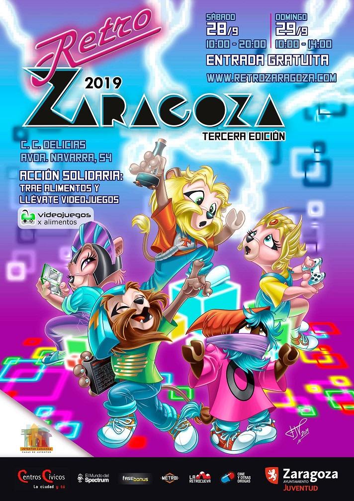 RetroZaragoza 2019 Cartel