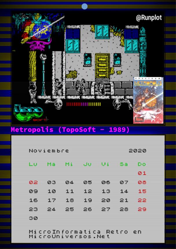 Noviembre - Metrópolis