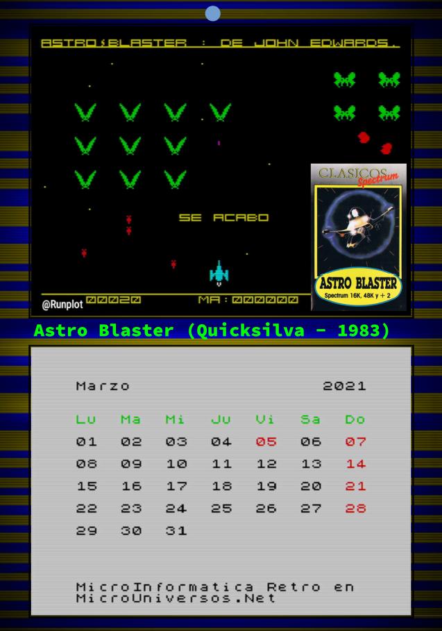 Marzo - Astro Blaster