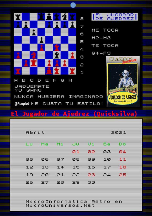 Abril - El Jugador De Ajedrez