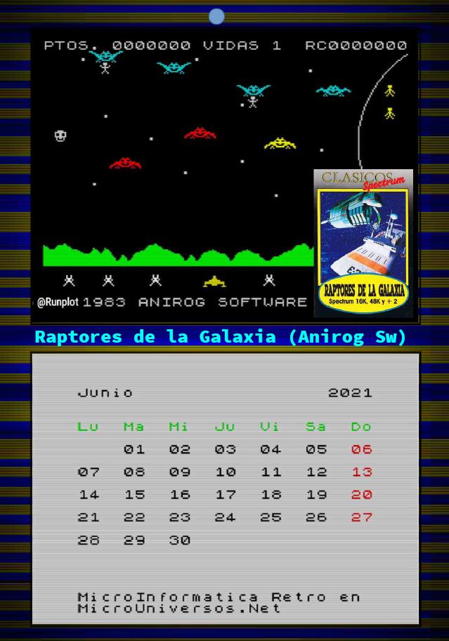 Junio - Raptores De La Galaxia